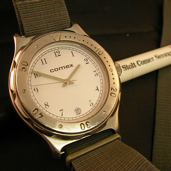 Late 70s/Early 80s COMEX Promotional Diver's Watch - Wristwatches