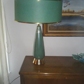 My best mid century find...in lamps