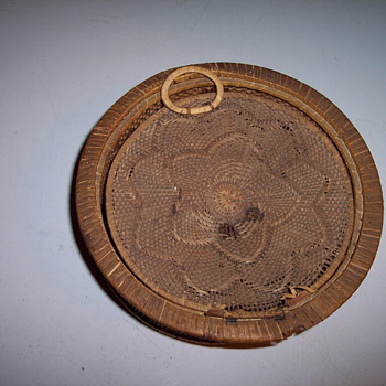 Uknown Indian Basket with Lid