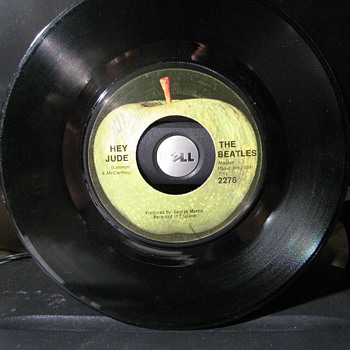 Beatles 45 of Hey Jude - Records