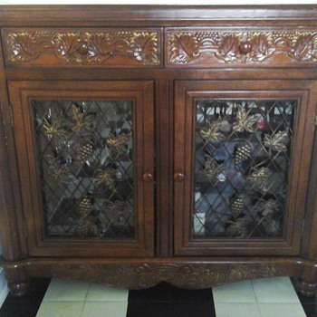 French Wine cabinet