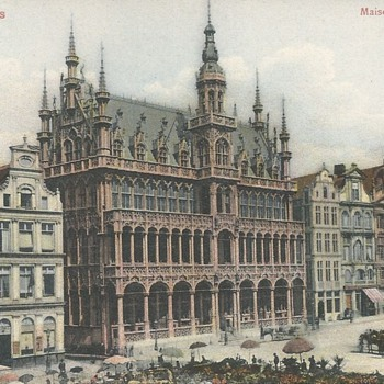 BRUXELLES - MAISON DU ROI.