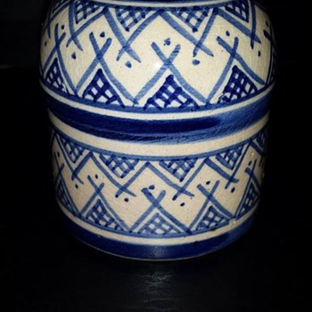 Small Lidded Jar