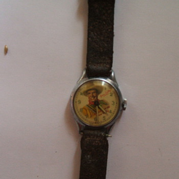 POST #300:Another Gene Autry Wristwatch, Just proves you never know...........