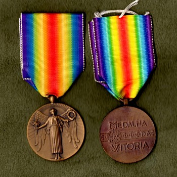 The WWI Victory Medal Series - Portugal - Military and Wartime