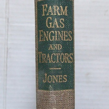 1938 Gas Farm Engines and Tractors book