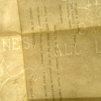 John W. Weeks Senator letter 1918 autograph