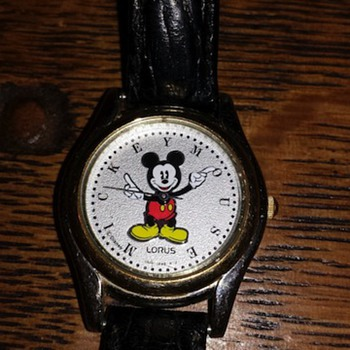 Unique Pose Mickey Mouse Watch  - Wristwatches