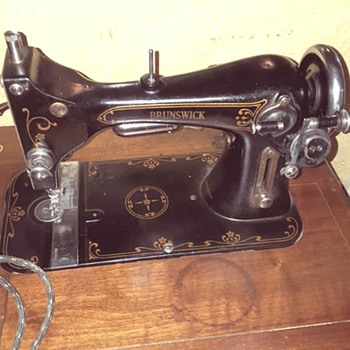 Brunswick Electric Sewing Machine