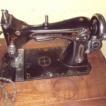 Brunswick Electric Sewing Machine - Sewing