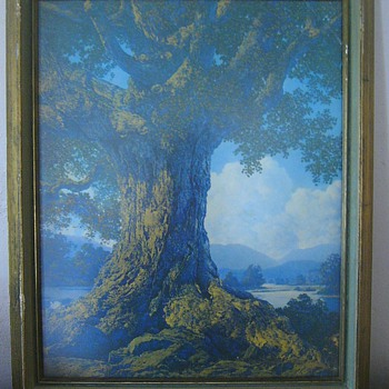 Maxfield Parrish Print That I Can't Identify