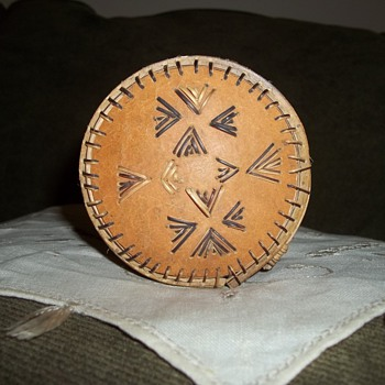 Native American Quill Box