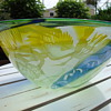 glass bowl by jean paul raymond
