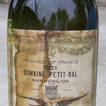 Old Saint EmelionWine Bottle Unopened - Bottles