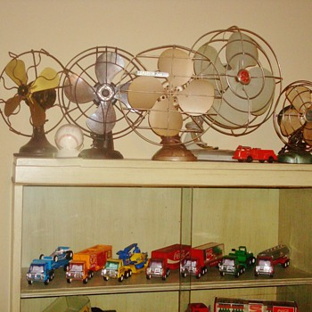Fans and Toys!