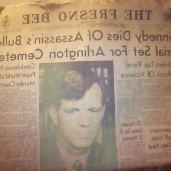 RFK June 6, 1968 News Paper