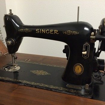 1940 Golden Gate Exposition Singer 66(?) - Sewing