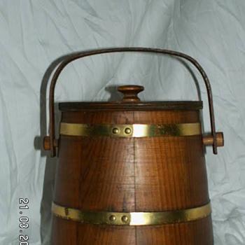 Vintage Firkin Tobacco Bucket