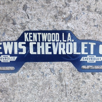 Chevrolet License Topper - Classic Cars