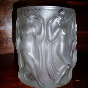 Baccarat Glass vase?