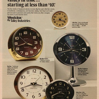 1978 - Westclox Advertisement