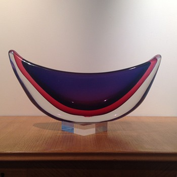 VETRERIA ARTISTICA ARCHIMEDE SEGUSO GONDOLA - Art Glass