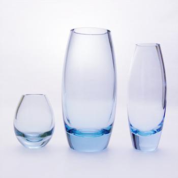 HELLAS vases, Per Lütken (Holmegaard, 1950s)
