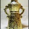 Weeping Gold Small Vase Decor -- JAPAN