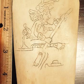 Bone carving  - Visual Art