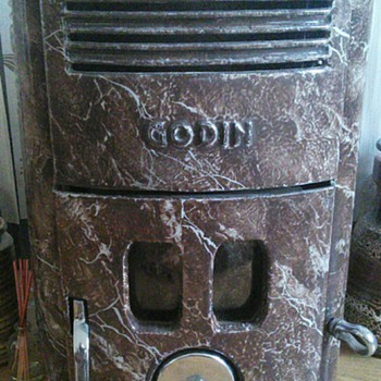 Art Deco French Godin Stove.