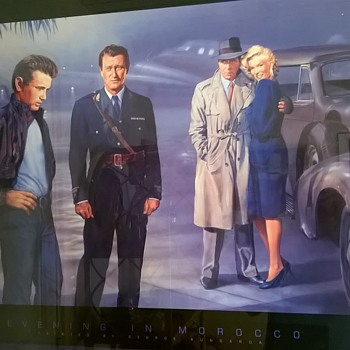 """Evening In Morocco"" Poster Mystery > Why Is John Wayne There Instead of Elvis?"