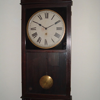 Gilbert Regulator Wall Clock