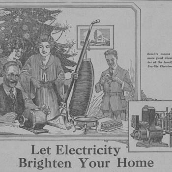 1919 Everlite Generator Advertisement - Advertising