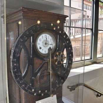 Cable Car Clock - Railroadiana
