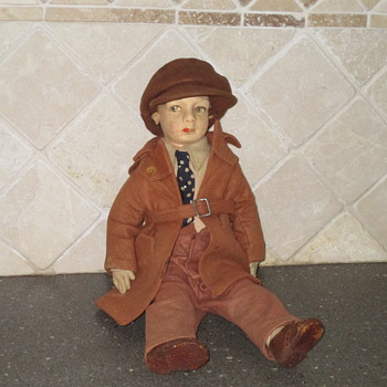 Vintage Doll - Male  - Dolls