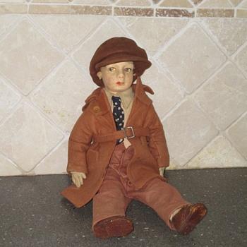 Vintage Doll - Male