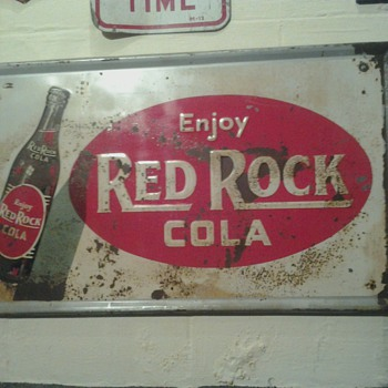 Red Rock Cola Sign - Signs