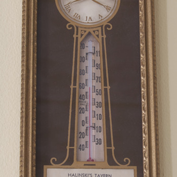 Halinski's Tavern Vintage Thermometer, Buffalo, NY - Advertising