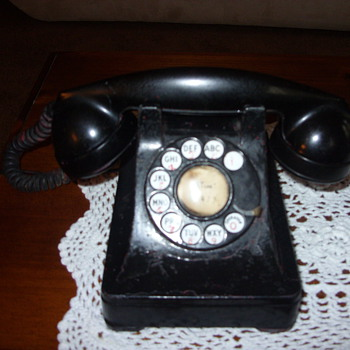 30s western electric telephone - Telephones