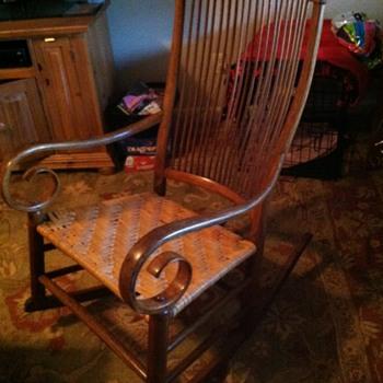 Rocker of unknown origin - Furniture