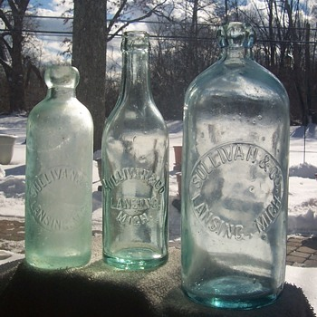 Michigan Bottles! - Bottles