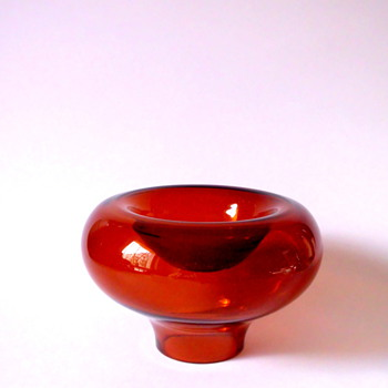 Vase/bowl by Sigrid Kupetz for WMF - Art Glass
