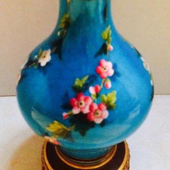 Antique French Vase - Art Pottery