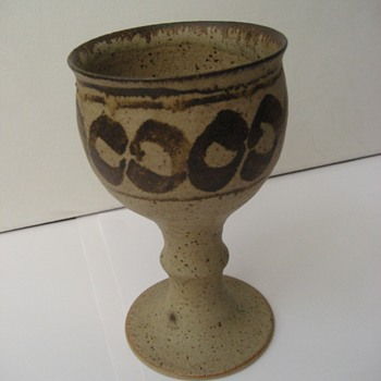 Chalice/Goblet without a makers mark.