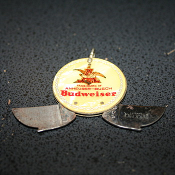 Anheuser-Busch Keychain Knife and File