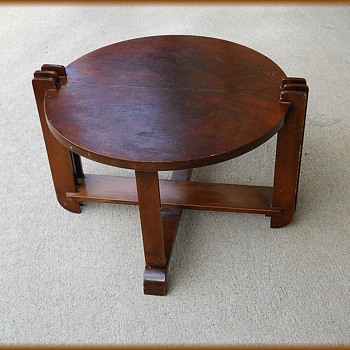 Art Deco -- Small End / or Side Table ( Post # 1 of 2 ) - Furniture