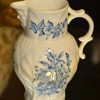 Royal Worcester Mask Pitcher / Creamer - 1940s/50s