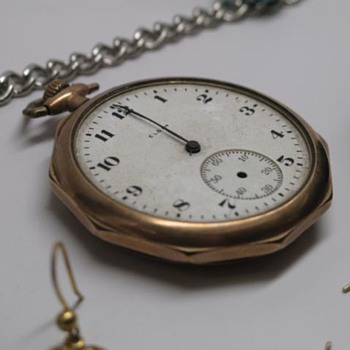 Elgin Pocket Watch - Engraved - Pocket Watches