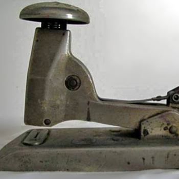 The Speed Parrot Babe Fastener - Stapler c1935