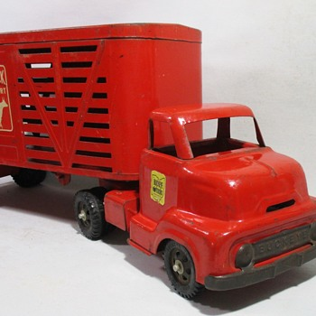 Buckeye Livestock Semi - Model Cars